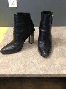 Leather bootie size 7