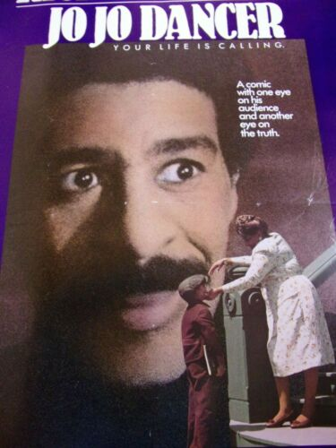 JO JO DANCER Original THEATER-USED Movie Poster 27x41 RICHARD PRYOR SS - C5