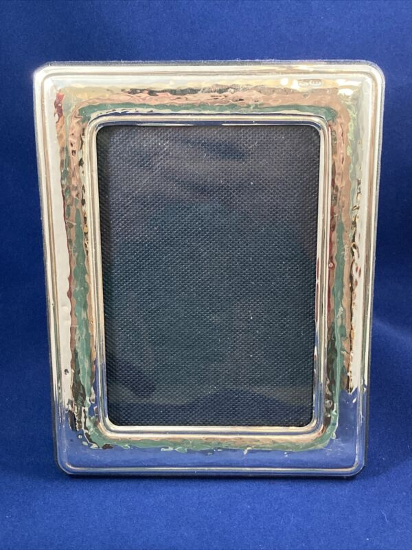 """Paterna & Livi Sterling 925 Picture Frame 5.25""""X6.75"""" Italy Fits 3.5""""x5"""" Photo"""