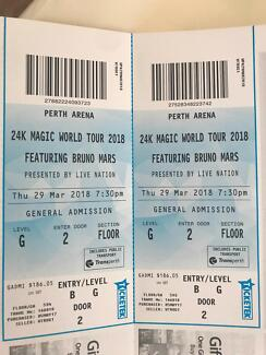 BRUNO MARS Perth tickets