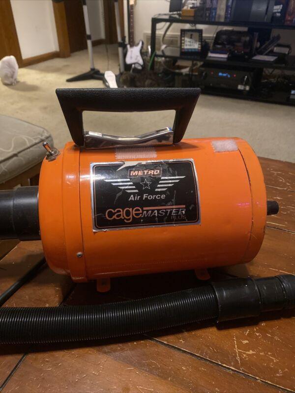 Metro Vac Air Force CageMaster Plus CM-3 Pet Dog Grooming Dryer 11.25 Amp