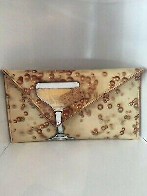 Kent Stetson Champagne clutch/crossbody (Kent Champagne)