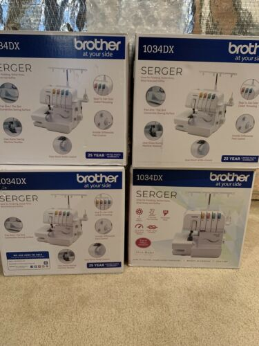 NEW - Brother 1034DX Overlock Serger Sewing Machine New - SH