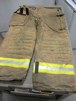 Size 40 X 30 Morning Pride Fire Fighter Turnout Pants Good Dirty