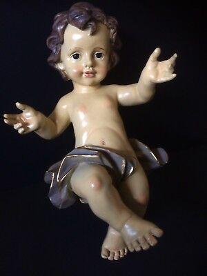 Bambinello Jesus In Resin Cm 22