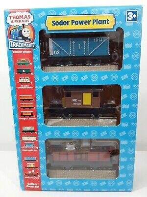 Thomas & Friends Trackmaster Sodor Power Plant 3 Trucks Set (3 train cars) NIB