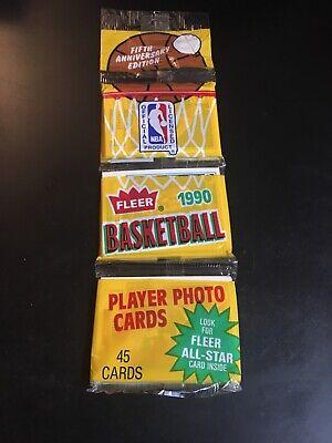 1990 Fleer Basketball Rack Pack Michael Jordan All Star on back at bottom PSA 10 1990 Fleer Rack