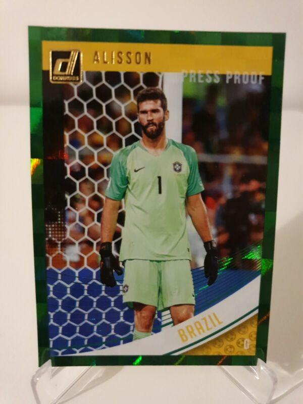 Alisson Panini Prizm Copa Mundial 2018 1 X Base De Brasil