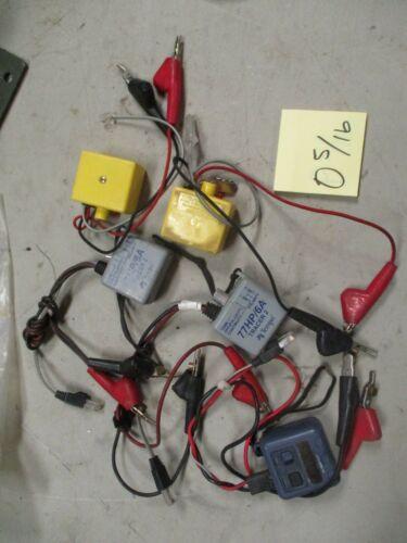 Used Lot of 5 Tone Testers Fluke, Tempo, Aines