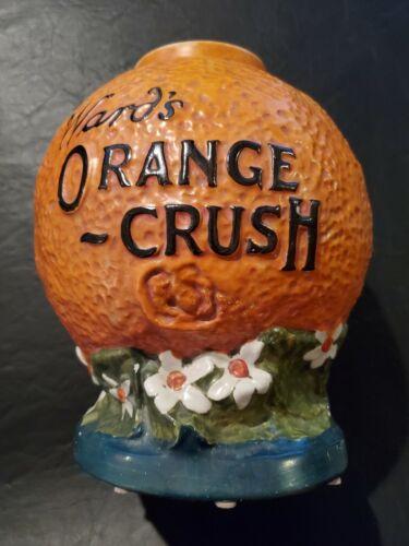 Rare Antique Wards Orange Crush Soda Fountain Syrup Dispenser