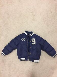 Boys winter jacket size 5/6