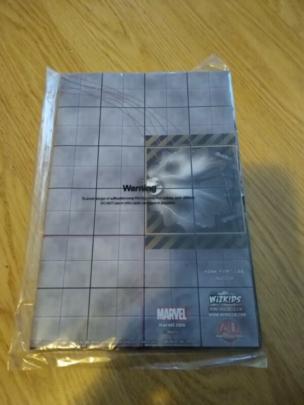 HEROCLIX 7 MAP LOT.  NEVER BEEN USED IN A GAME.