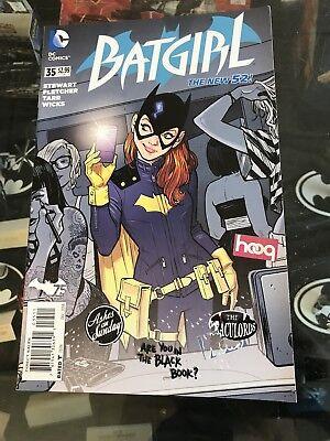 Batgirl #35 Erster Drucken Erste Erscheinung Neu Kostüm Batgirl von Burnside