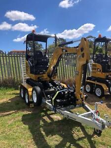 Mini Excavator Hire Menai Sutherland Area Preview