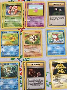 Pokemon first edition cards!