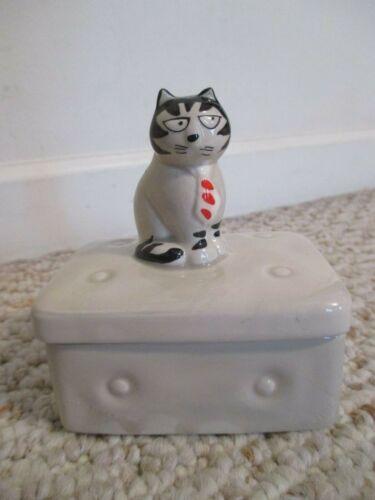 Takahashi Tom Cat Trinket Box