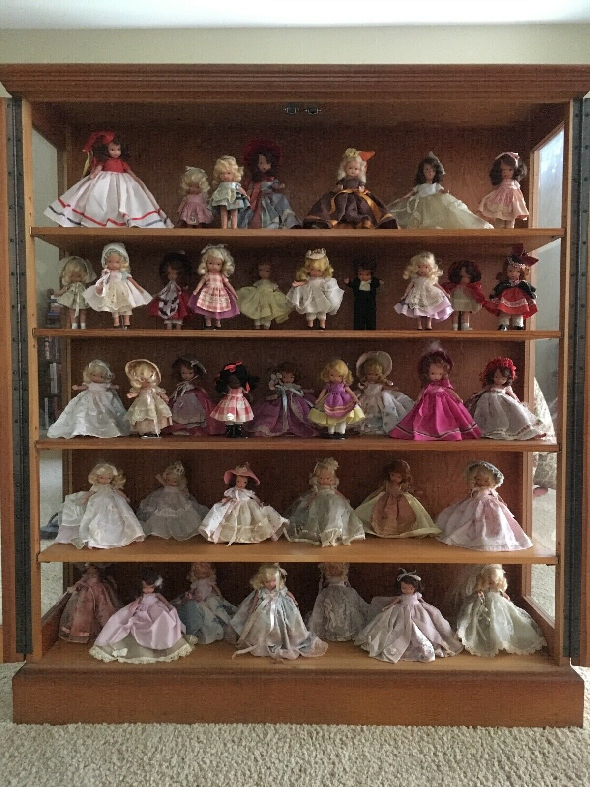 Vintage Nancy Ann Storybook Doll Collection - $500.00