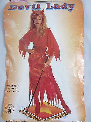 Rubie's Devil Lady Red Halloween Costume - 4 Pieces - Women's One Size - C80 (Halloween Devil Lady)