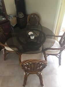 Cane Dining Table Engadine Sutherland Area Preview