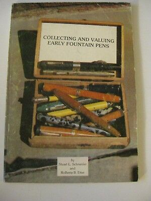 RARE Collecting & Valuing Early Fountain Pens by Schneider Ads Price parker wahl