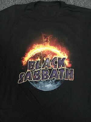 Vintage Black Sabbath The End Tour 2016 Black T-shirt Unisex S-234XL ZM549
