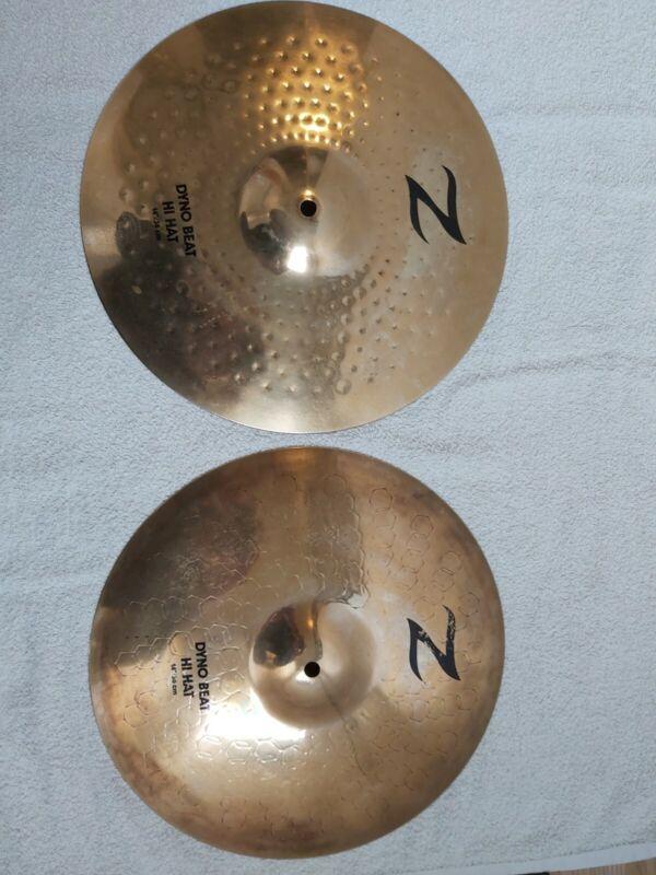 Zildjian 14 hi hats  Vintage dyna beats.