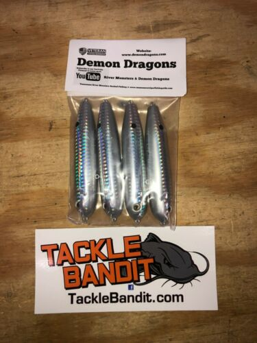 3.0 High Fin Blues Demon Dragon Lures Inline Floats/rattles 4 pack FREE SHIPPING
