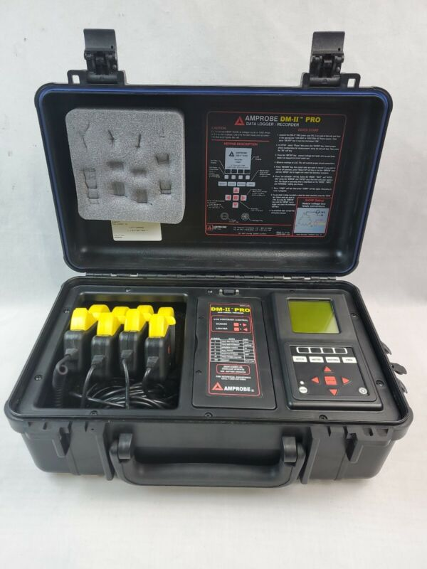 Amprobe DM-II PRO Data Logger/Recorder Tested EB-3478