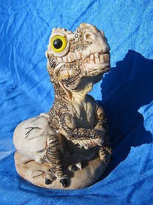 Used, Dinosaur Tryannosaurus Rex T Rex John Fischner Signed Baby Hatching Egg Marvart for sale  Green Bay