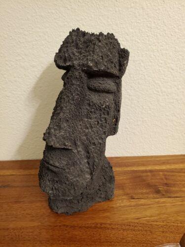 Vintage Easter Island Lava Rock Sculpture Statue
