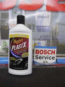 Meguiars Plast-X 296ml Plastikreiniger Politur AcrylglasG12310EU Scheinwerfer