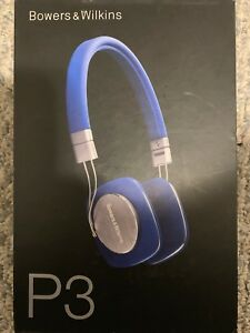 Bower and Wilkins P3 headphones brand new.