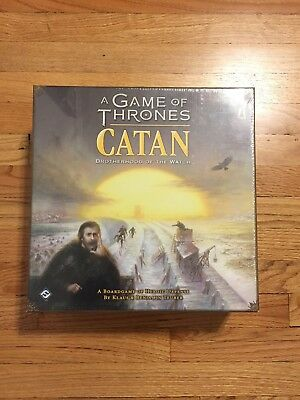 Catan Game of Thrones: Brotherhood of the Watch NEW SEALED - Ready to Ship!