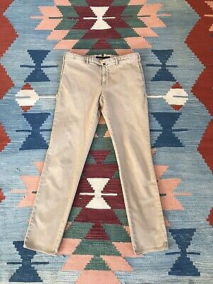 Incotex Trousers, RRP £260, Textured Cotton, 32w, Beige, Slowear