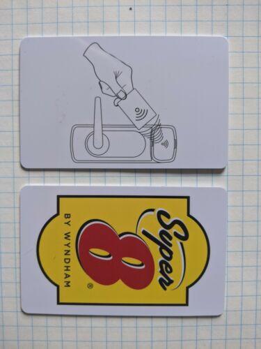 Super 8 RFID room key card for Kaba Ilco, Saflok, Miwa,Onity, Securelox,SQM, 200