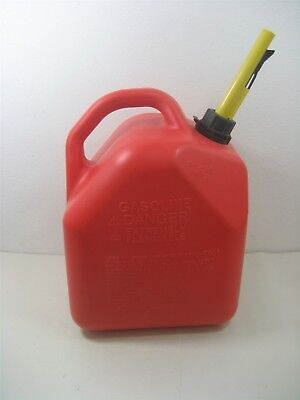 Scepter Ameri-can Gasoline 5 Gallon 18.9l Red Plastic Gas Can Model P250 Usa