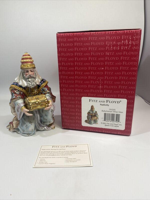 Fitz & Floyd Nativity - Babylonian Wise Man - 19/205 in Box