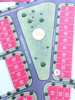 PARK FRONT NORTH FACING LAND FOR SALE IN MELTON SOUTH Melton South Melton Area Preview