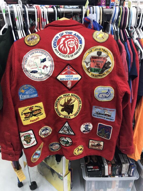 Vintage BSA Coat With Patches & Cover 1973-1978