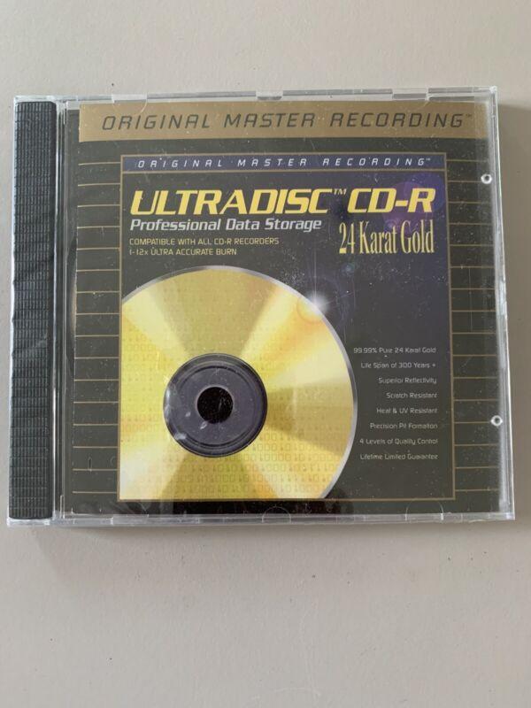 Ultradisc CD-R Blank 24 Karat Gold MFSL SEALED MINT
