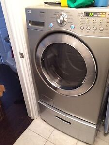 Washer, dryer and risers