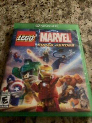 LEGO Marvel Super Heroes Xbox One Avengers Captain America Iron man Hulk Thor