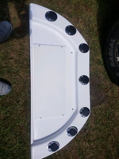 Fibreglass bait board