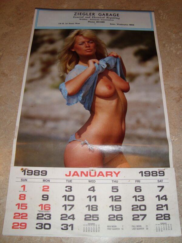 Vintage 1989 Advertising Calendar - Ziegler Garage