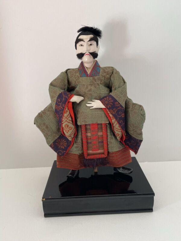 Vintage Japanese Doll: Large Standing Nobleman (Z22)