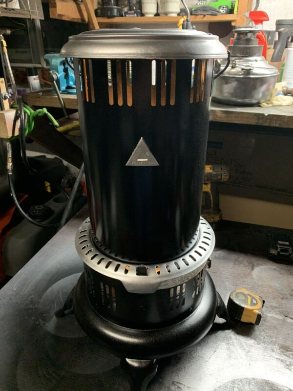 Vintage Perfection Kerosene Heater#525M Completely Stripped And Repainted