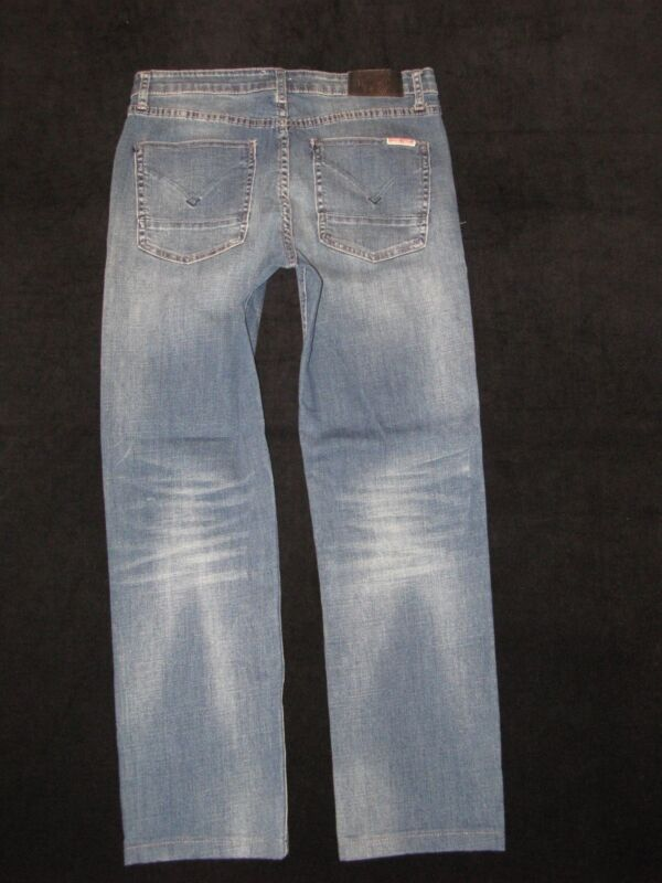 Hudson Jeans Boys Relaxed Straight Sz 16 w Stretch Distressed 29 x 26