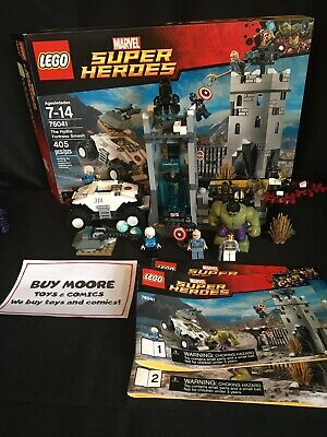 LEGO Marvel: The Hydra Fortress Smash (76041) Complete With Box & Instructions