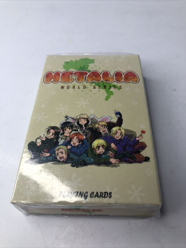 Hetalia World Series Playing Cards New Sealed Anime Free Shipping