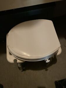 Astonishing Raised Toilet Seat Local Health Special Needs Items In Bralicious Painted Fabric Chair Ideas Braliciousco